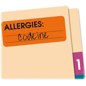 Redi-Tag Allergies Medi-Label RTG50320