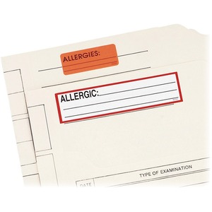 Redi-Tag Allergic Medi-Label RTG50701
