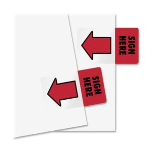 Redi-Tag Sign Here Adhesive Page Flags RTG76809