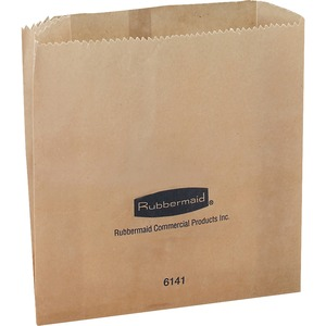 Rubbermaid Waxed Receptacle Bag RCP614100