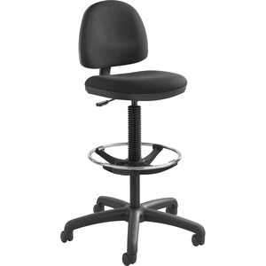 Safco Precision Extended Height Chair with Footring SAF3401BL