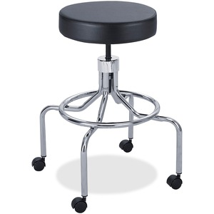 Safco Screw Lift Lab Stool With High Base SAF3433BL