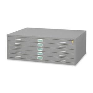 Safco 5 Drawers Steel Flat File & Base SAF4996GRR