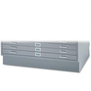 """Safco 6"""" High Base for 5-Drawer Steel Flat File SAF4997GRR"""