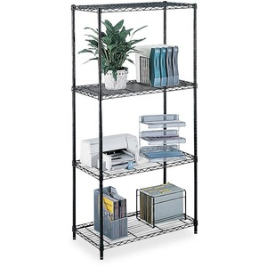 Safco Commercial Wire Shelving SAF5241BL