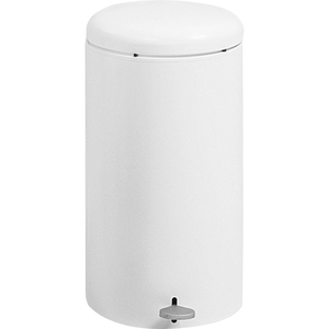 Safco Step-On Garbage Can SAF9683WH