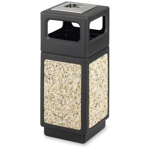 Safco Ash Urn Side Open Receptacle SAF9470NC