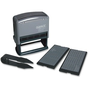 Xstamper Self-Inking Custom Message Stamp Kit XST40410