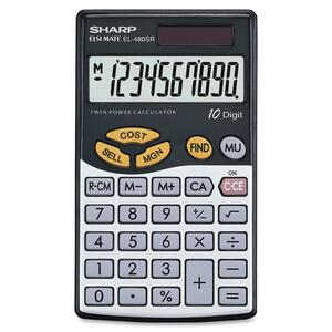 Sharp EL480 Handheld Calculator SHREL480SRB
