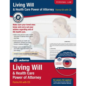 Socrates Living Will & Power of Attorney for Health Care Kit SOMK306