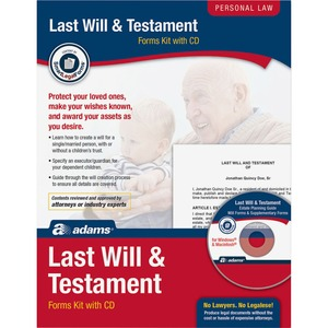 Socrates Last Will & Testament Kit SOMK307