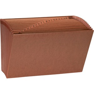Sparco Heavy-Duty Accordion Files without Flap SPR26537