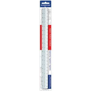 Staedtler Engineering Triangular Scale STD9871934BK