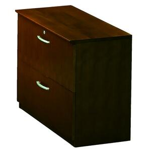 Mayline Corsica Two-Drawer Lateral File MLNVLFMAH
