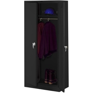 Tennsco Full-Height Deluxe Wardrobe Cabinet TNN7818WBK