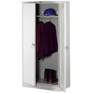 Tennsco Full-Height Deluxe Wardrobe Cabinet TNN7824WLGY
