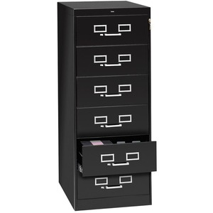 Tennsco Card Cabinet With Lock TNNCF669BK