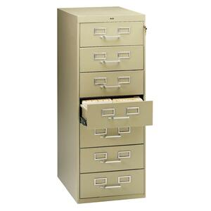 Tennsco Card Files & Media Storage Cabinet TNNCF758SD