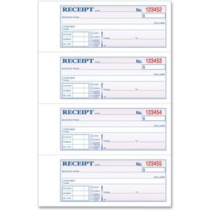 TOPS Manifold Receipt Book TOP46806