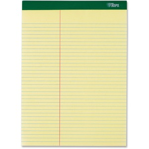 TOPS Letr-Trim Perforated Law-ruled Writing Pad TOP63396