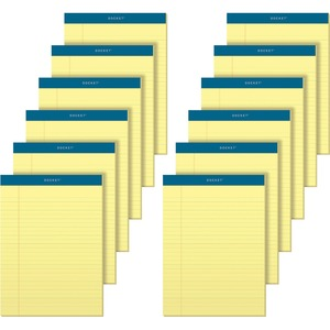 TOPS Docket Letr-Trim Legal Rule Canary Legal Pads TOP63400