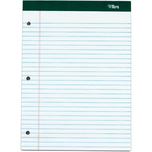 TOPS Docket 3-hole Punched Legal Ruled Legal Pads TOP63437