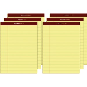 TOPS Docket Gold Legal Pad TOP63956