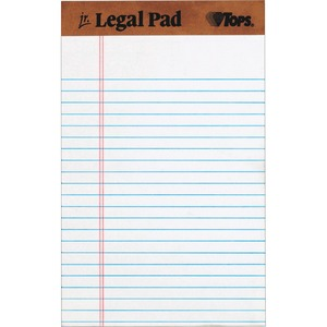 TOPS The Legal Pad Ruled Perforated TOP7500