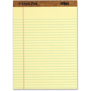 TOPS The Legal Pad Ruled Top Perforated Pad TOP7532