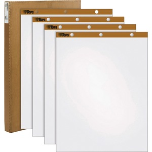 TOPS Plain Paper Easel Pad TOP79011