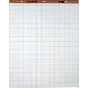 "TOPS 1"" Grid Square Ruled Easel Pad TOP7902"