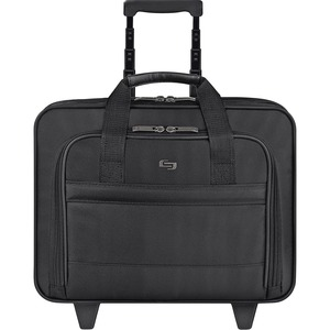 "Solo Classic Carrying Case (Roller) for 15.6"" Notebook - Black USLB1004"