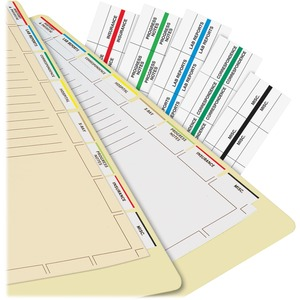 Tabbies Medical Chart Index Dividers TAB54520