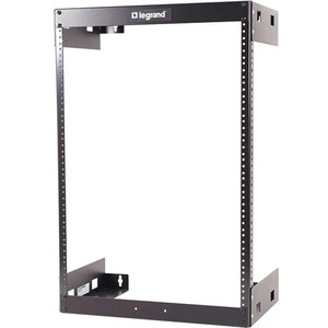 Cables to Go 15U Wall Mount Open Frame Rack - 18in Deep (...