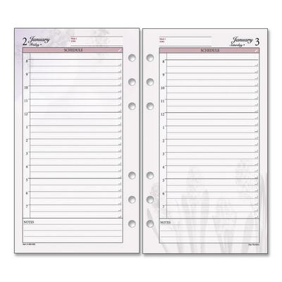 daily planner pages. Daily Planner Refill Pages