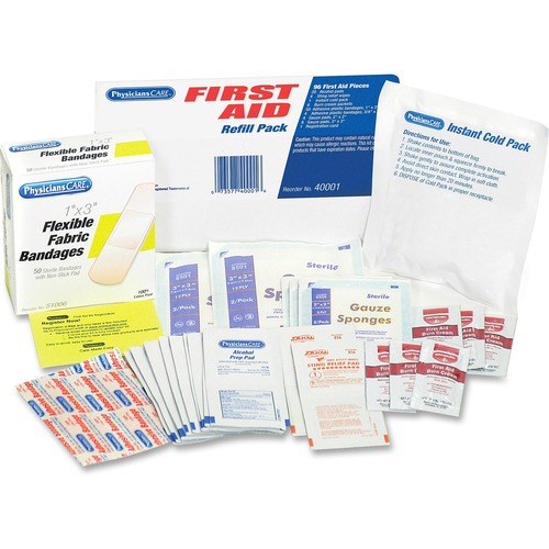 PhysiciansCare Refill for First Aid Kits ACM40001