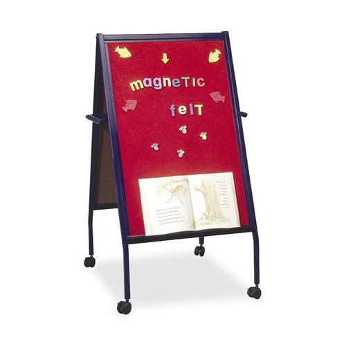 Balt Magnetic Red Flannel Surface Easel Double-Sided BLT33294