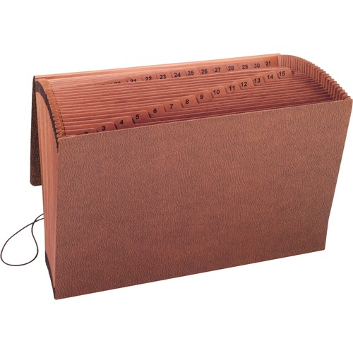 SMD70369-BULK Smead 70369 Leather-Like TUFF Expanding Files with Flap and Elastic Cord