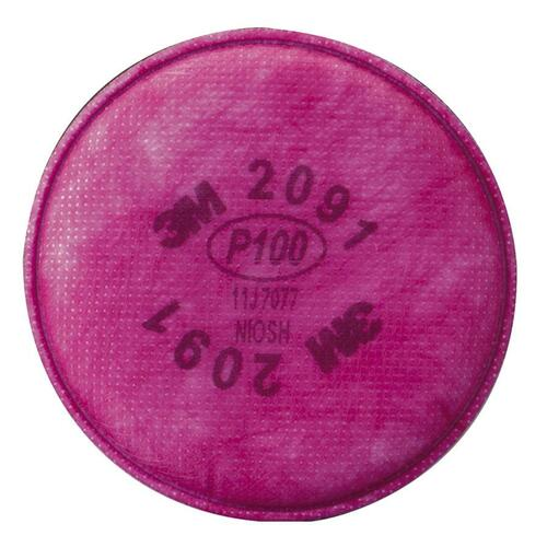 3M Personal Safety Division 142-7093B Particulate Filter 7093B, P100 Respiratory Protection 144 Each Case 264707756