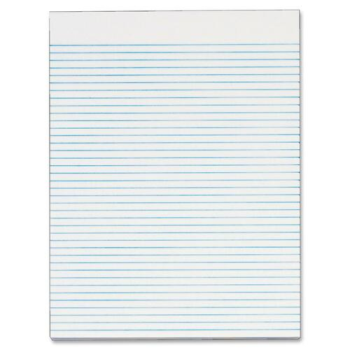 TOP74852-BULK TOPS Recycled White Gum Narrow Ruled Legal Pad