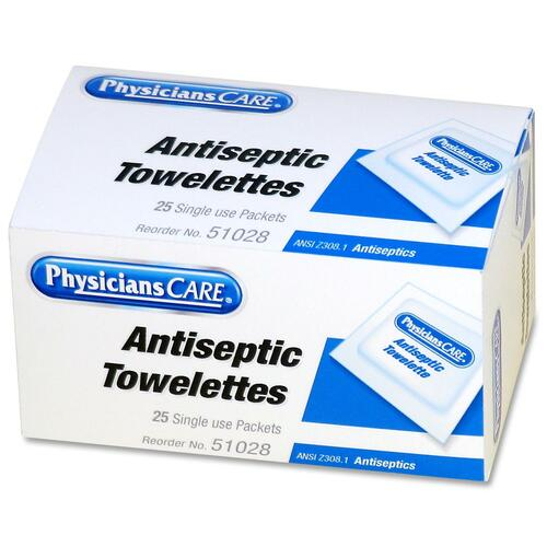 PhysiciansCare First Aid Antiseptic Towelette Refill ACM51028