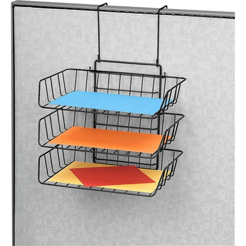 Fellowes Wire Partition Additions Triple Tray FEL75310