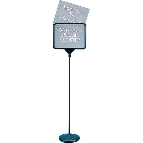 Quartet Free Standing Pedestal Sign QRT3655