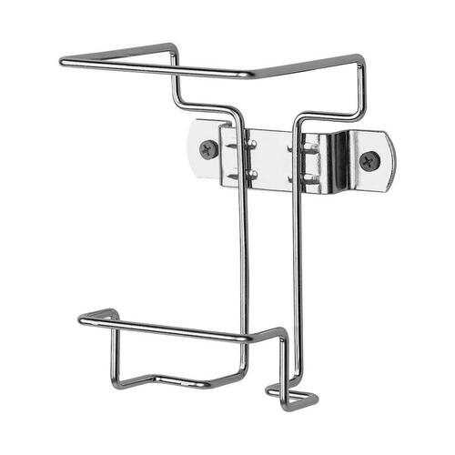 Covidien Cvdswbr100912 Wall Container Bracket, 1 Qt,Non-Locking, Chrome CVDSWBR100912