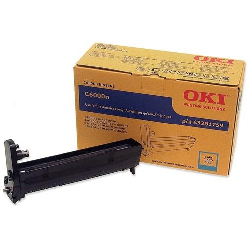 Discount OKI43381759 Oki 43381759 Oki Cyan Image Drum For C6000n and C6000dn Pri