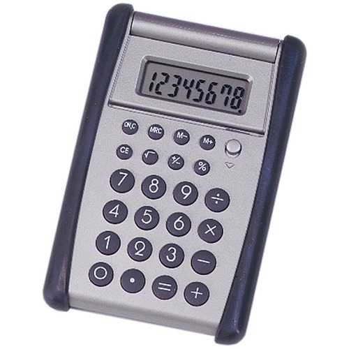SKILCRAFT 8-Digit Flip-up Calculator NSN4844559