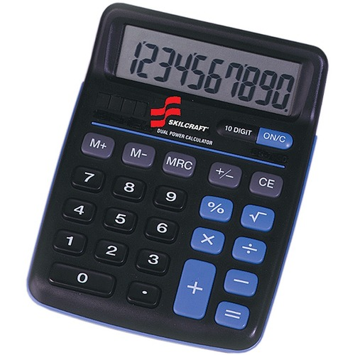 SKILCRAFT 10-Digit Calculator NSN4844580