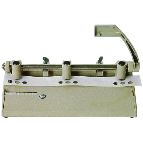 Skilcraft Heavy-Duty Adjustable 3 Hole Punch NSN1394101