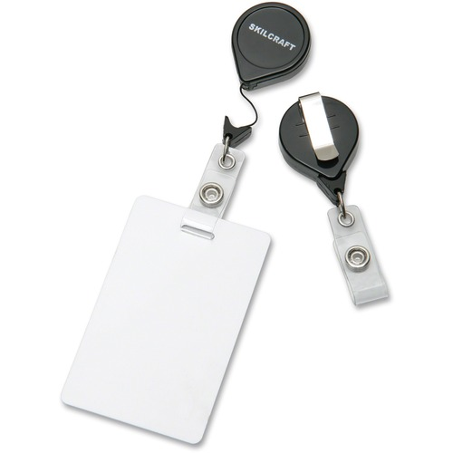 SKILCRAFT Retractable ID Card Reel NSN5453657