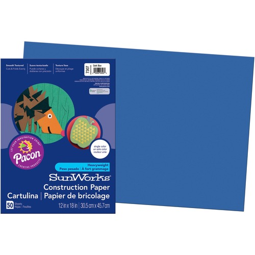 SunWorks Groundwood Construction Paper PAC7307